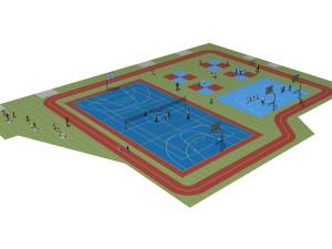 Multi Sport Stadiums Surfaces