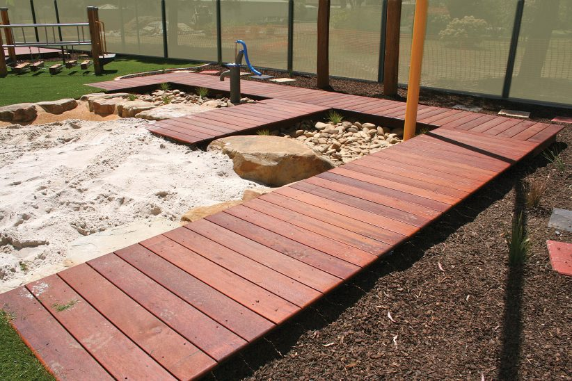 Organic Mulch, Sandpit, Sand Play
